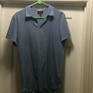 Blue Marc Anthony collar shirt